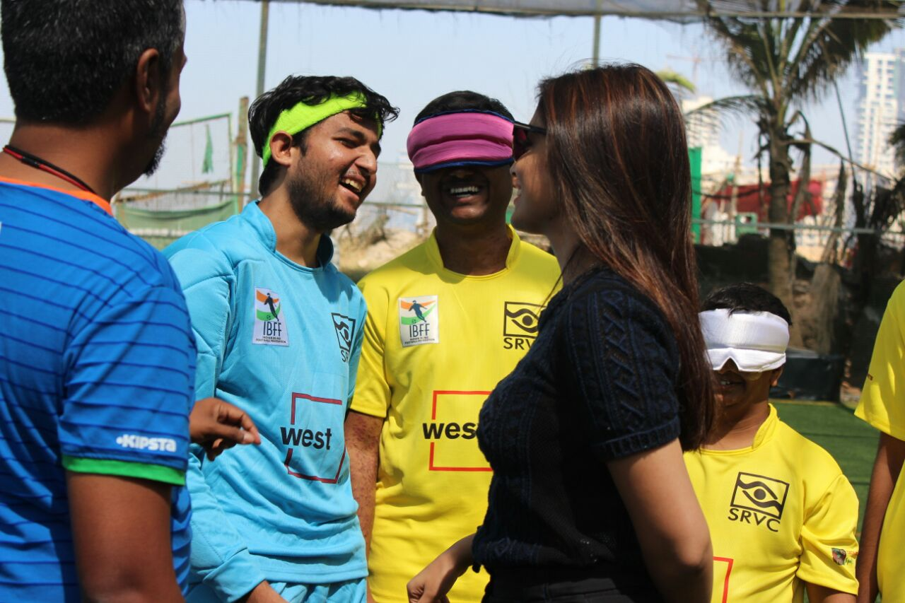 fun time with actress shriya saran and players