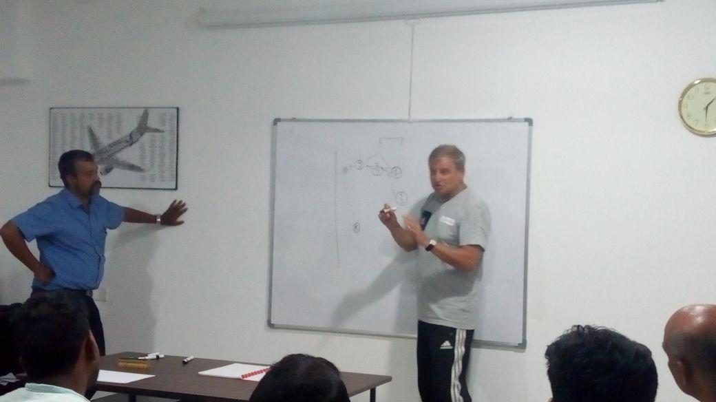 training class by Ulrich Pfisterer