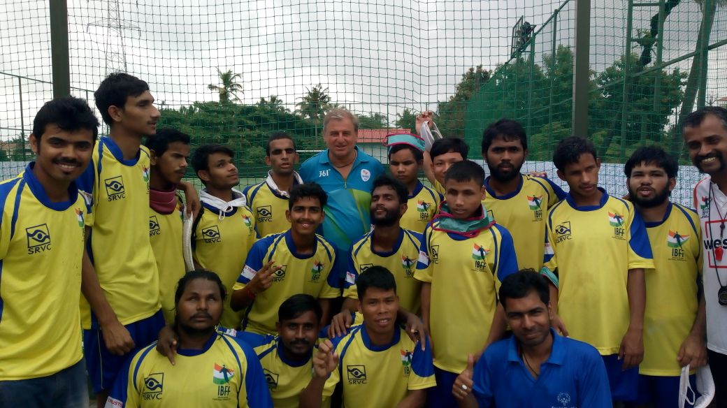 The Home of Blind Football in India - Home