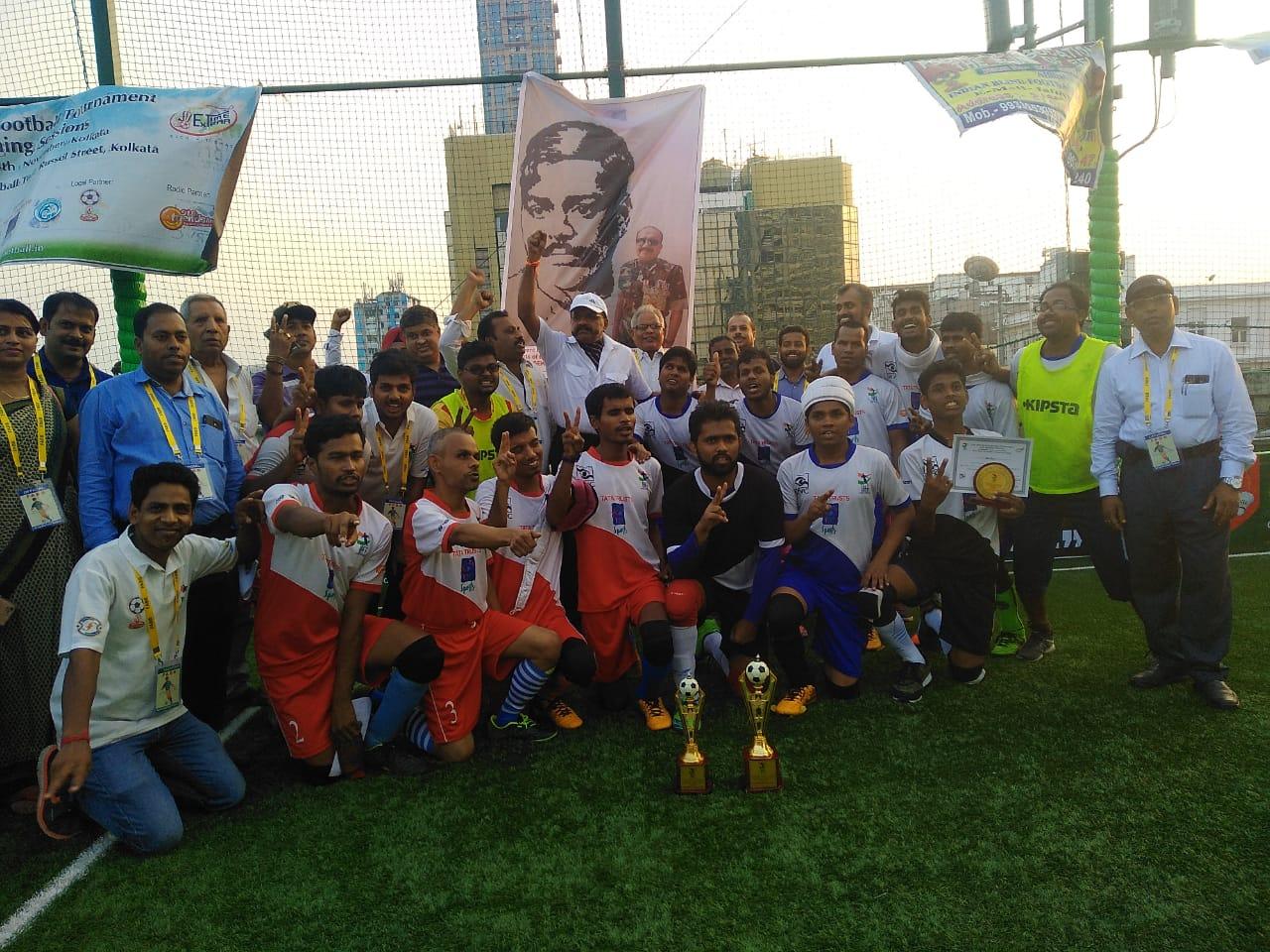 Photo of East Zone Blind Football Tournament, Kolkata