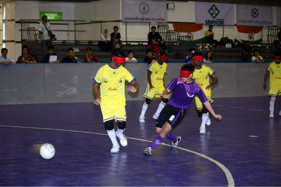 Thailand Vs India ( in yellow)