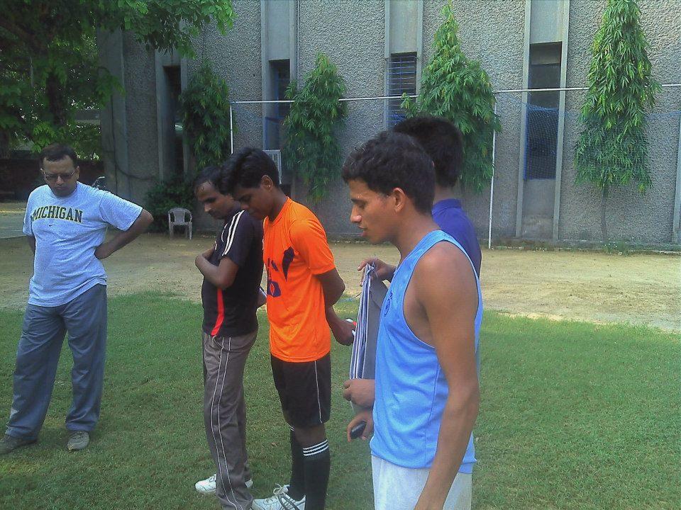 Indian team at 8th IBSA National Football Championships delhi