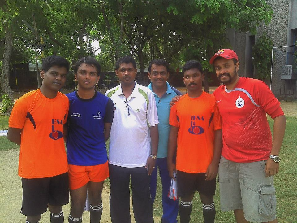 Team india preparing for 8th IBSA Blind Football Championships