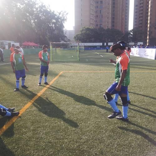 Teams warmup