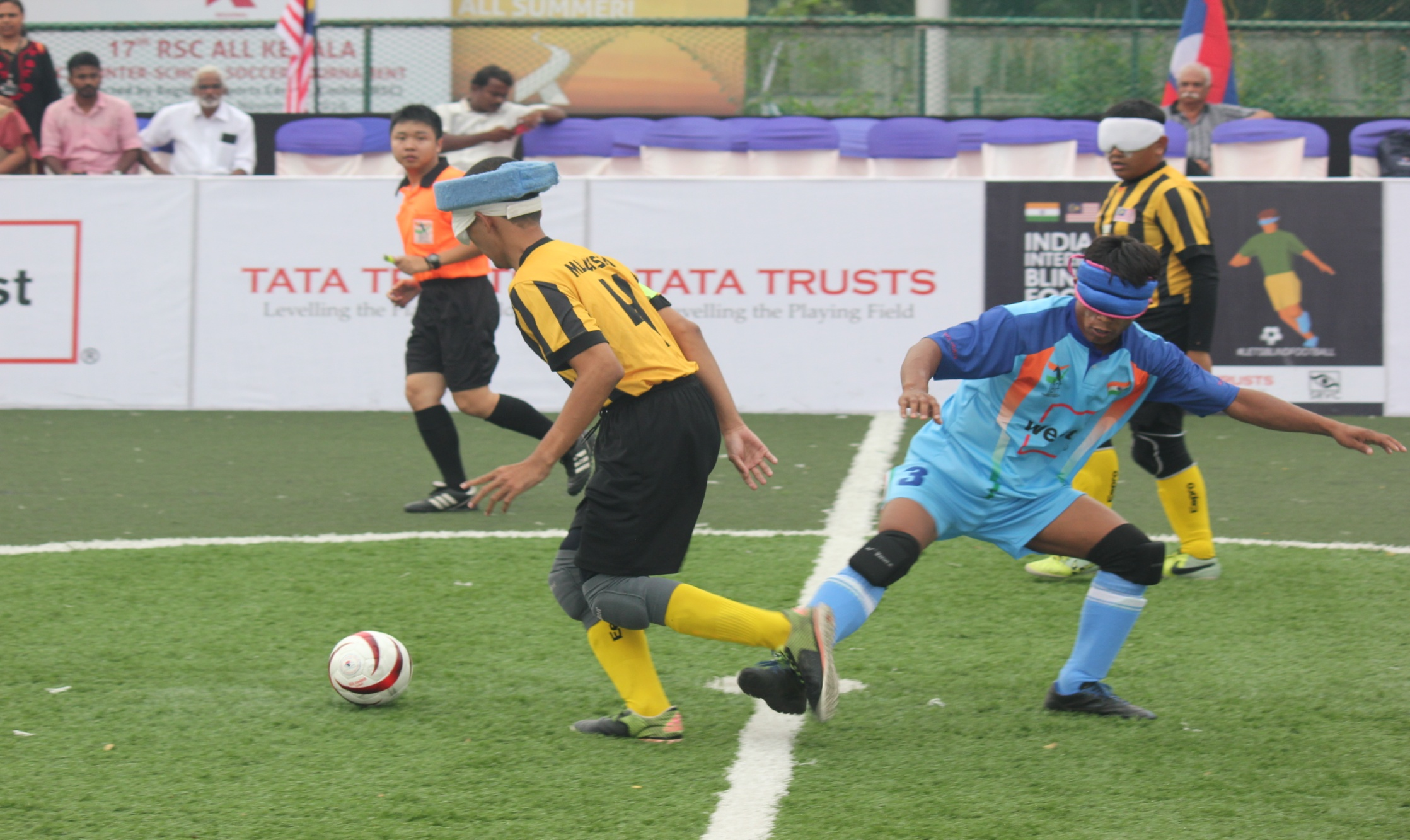 Indian player defence against malaysian player