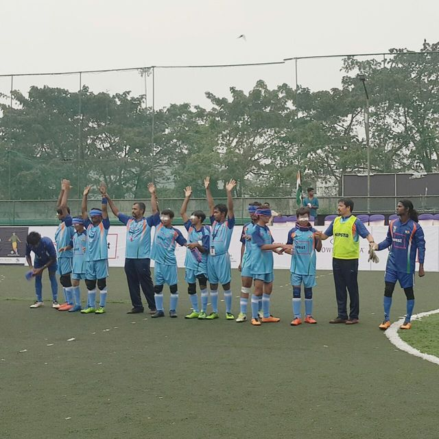 Indian team line up before india vs malaysia match
