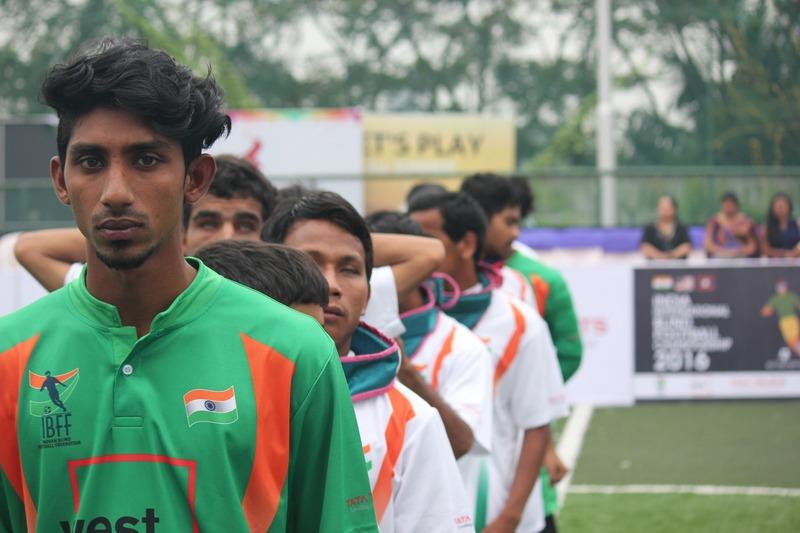 still of team india goal keeper