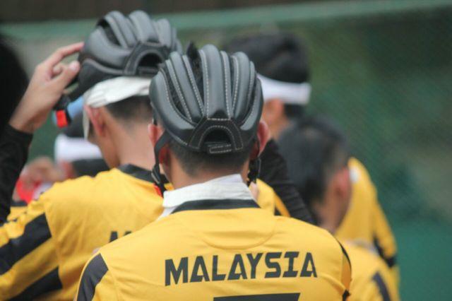 a close photograph of malaysian player