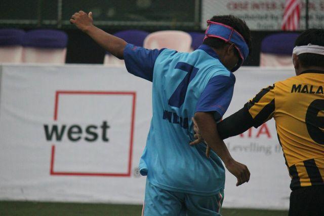 Still from india vs malaysia football match