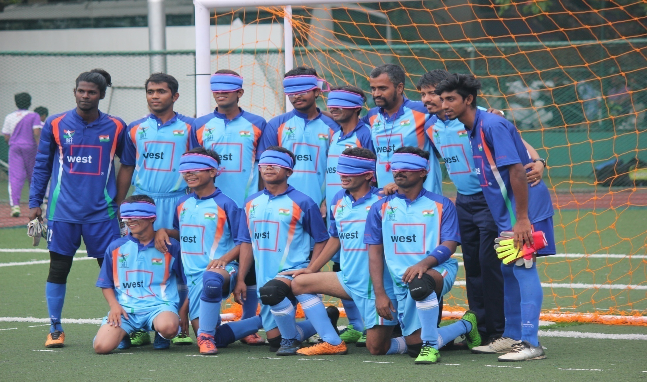 Team india with coach