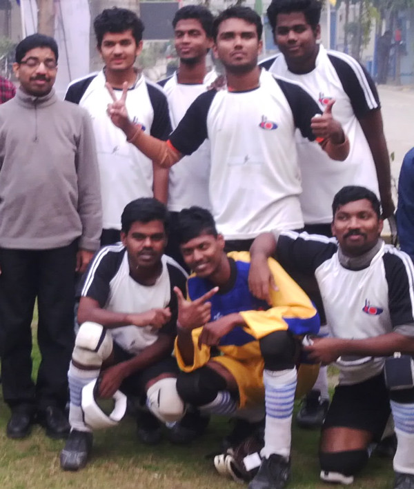fun time at  IBSA National B1 Blind Football Championships - Delhi, Jan 2015