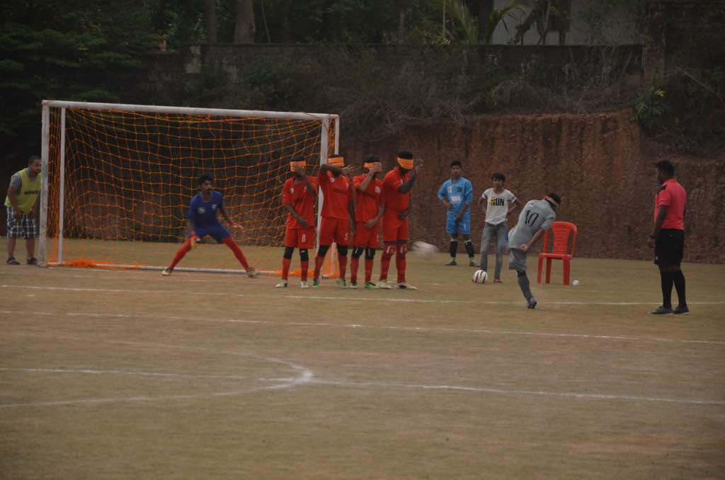 penalty kick of player