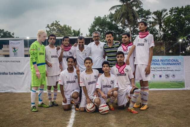 Dehradun team with organizers
