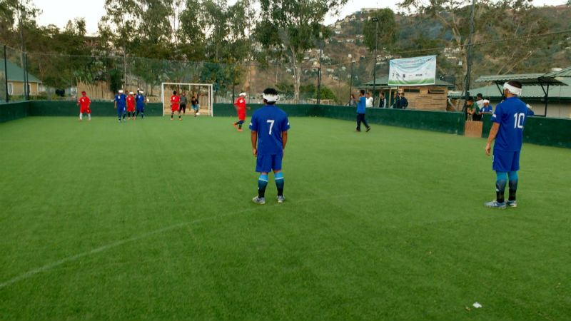 photos from Training camp in Aizawl- Mini North East Blind Football tournament at Shillong